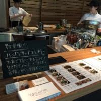 恵比寿 GREENBOWL 春キャベツとイカ、香草のグリーンボウル  国産大豆キーマカレーとドライトマトのラップグリーン ハンドドリップコーヒー すべて大満足!