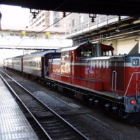 DD51-888号機+旧客@高崎駅