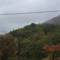 中尾高原 本日は雨。。