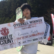 """ELEMENT PRESENTS 2017 MAKE IT COUNT in TOKUSHIMA 上村颯""""優勝"""""""