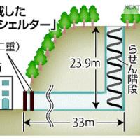 山腹にトンネル掘り、津波シェルター完成…高知県室戸市