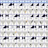 ボウリングのリーグ戦 (285)