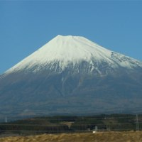 新東名から富士山