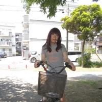 一年振りのサイクリング女装