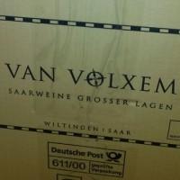 Saarburgの郵便局から届きました。