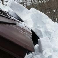 小屋、表層雪崩