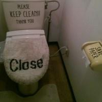 注文の多いトイレ。