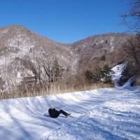 五木村・高塚山でスノーハイク