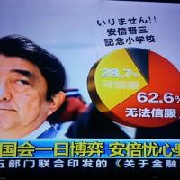 次々刻々~中国特別番組他 かんこくの次は日本だ・・?