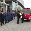 総務省消防庁からの無償貸付消防車両の引渡式