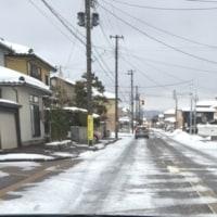 冬の道路事情