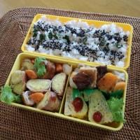 お弁当(豚ロースのさつま芋巻き巻きソテー・照り焼き風)