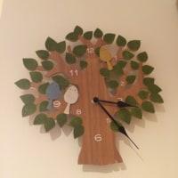 玄関の掛け時計