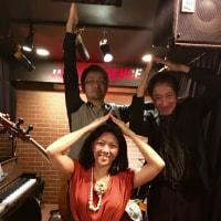インディペンデンス終了、そして26日(土)は関内『エアジン』にて外山安樹子トリオです!!
