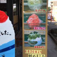 あついぞ!熊谷で、雪くまを食す!