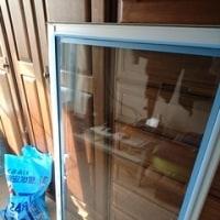 窓ガラスのパッキンの交換