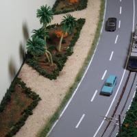 路面線ジオラマ完成