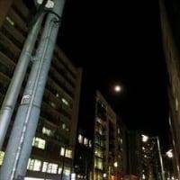 昨夜の満月