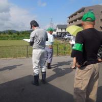 農地転用の現地調査に行きました。