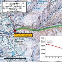 アンデス・ブランカ山脈紀行;第8日目(1);トレッキング4日目;サンタクルス谷を下る