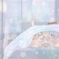 【ユーリ!!! on ICE】ヴィクトル&勇利の新婚生活(?)《3》【妄想】 #yurionice #落書き