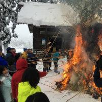 大雪のため練習中止