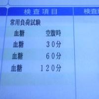手帳を繰って 4 …条件を揃えて比較&ブドウ糖負荷試験…