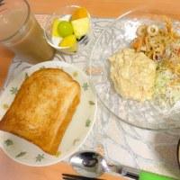 パンに合わせて、たまご&豆腐!