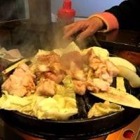 ぶらっと飛び込んだ韓国料理店で夜飯