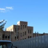 旧研究所の解体(箱崎キャンパス)