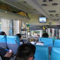 ■バス移動 オスロブへ