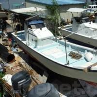 ヤンマーのフィッシングボート「DE24CZ」(船ネット)