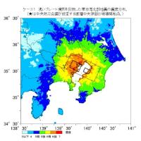 激しい揺れに警戒 首都直下地震 東京23区震度6強以上