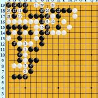 囲碁死活1545 囲碁発陽論