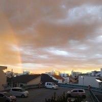 第4310弾・夕焼けと虹
