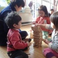 ぴんく 2歳児 ラディッシュ間引き・カプラ大会