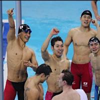 ★リオ五輪・・・カヌーで銅に日本人初、水泳自由形800リレーも