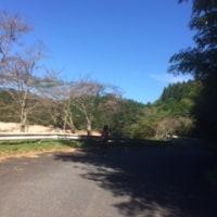 北山ダム湖にて