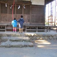 近くの神社に初詣