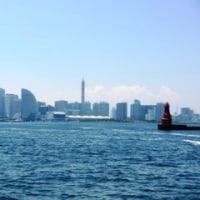 横浜港クルーズ 地図と双眼鏡は持ってません