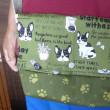 犬柄のショルダーバッグ