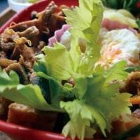 山菜の中華鴛鴦(いんよん)丼/米のこと