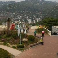 北岳山から曹渓寺