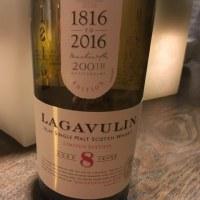 BAR ZEROの酒 「スコッチウイスキー」(ラガヴーリン8年 200周年記念ボトル)