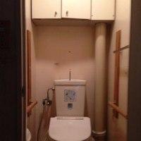 水回り「トイレのリフォーム作業」