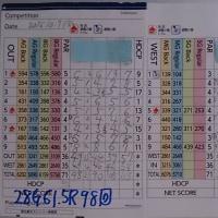 今日のゴルフ挑戦記(63)/東名厚木CC ウエスト→アウト(B)