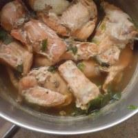 第二弾・らーめんのつゆで鮭の煮付け