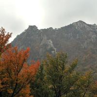 紅葉と山☆雪岳山国立公園・韓国から