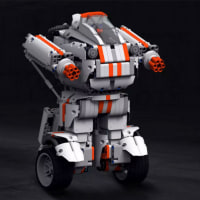5%off-Xiaomi MITU DIY 電話制御 自己組み立てる ロボット (子供のおもちゃとギフトとして)