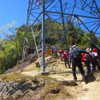 17 二ヶ城山(483m:安佐北区)登山  最高のロケーションに